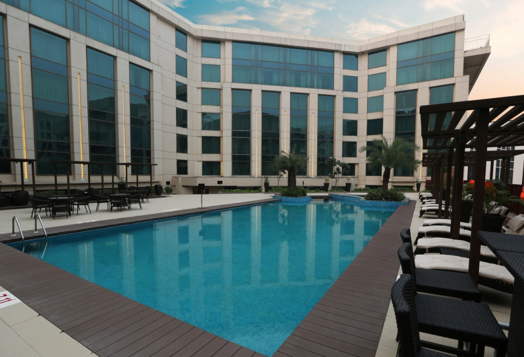 Pool at The Pride Plaza, Aerocity, New Delhi