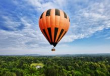 hot air baloon goa