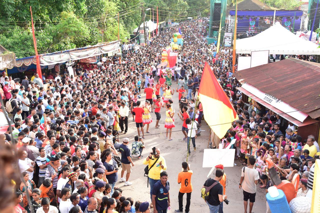 Bonderam festival of south Goa in monsoon