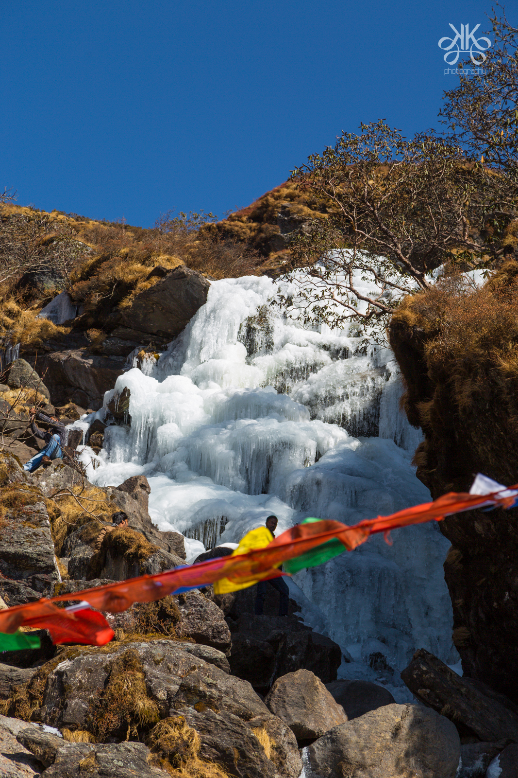 Frozen waterfall-Sikkim-KaynatKazi Photography