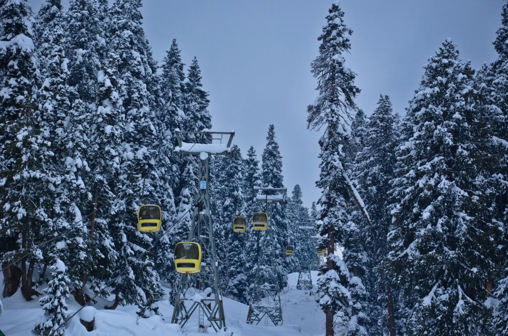 Gandola ride-Gulmarg-Kashmir