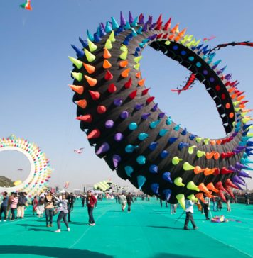 International Kite festival Ahmadabad